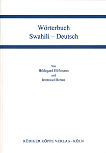 Wörterbuch Swahili–Deutsch