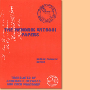 The Hendrik Witbooi Papers