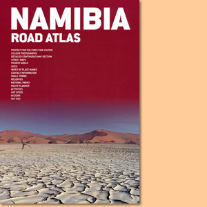 Namibia Road Atlas (MapStudio) 1:1500000