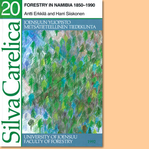 Forestry in Namibia 1850-1990