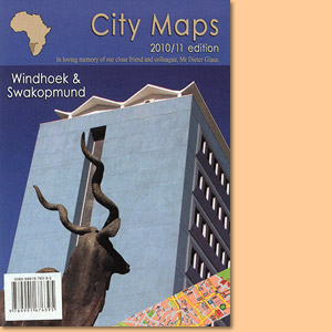 City Map Windhoek - City Map Swakopmund - City Map Walvis Bay