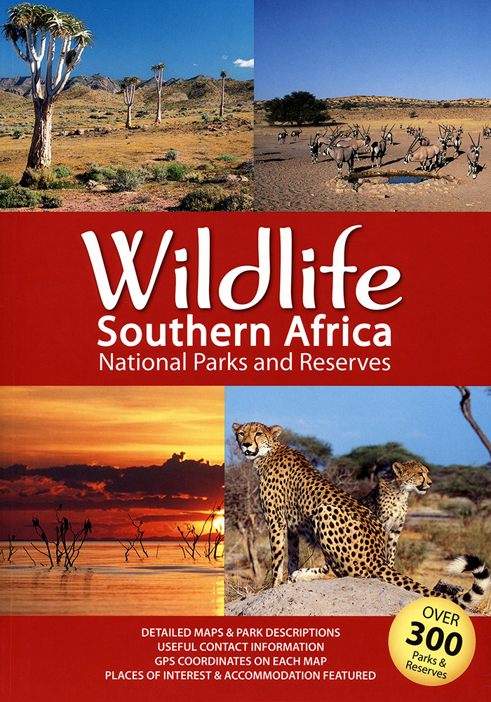 Wildlife Southern Africa: National Parks and Reserves (Mapstudio)