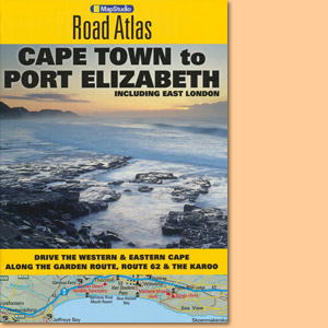 Cape Town to Port Elizabeth Road Atlas including East London (MapStudio)
