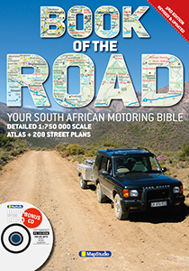 Book of the Road. Your South African Motoring Bible/ Südafrika-Atlas (MapStudio)