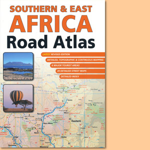 Southern & East Africa Road Atlas (MapStudio)