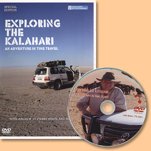Exploring the Kalahari. DVD Film