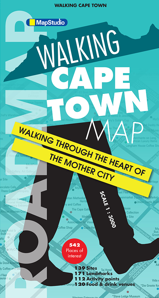 Walking Cape Town Road Map (MapStudio)