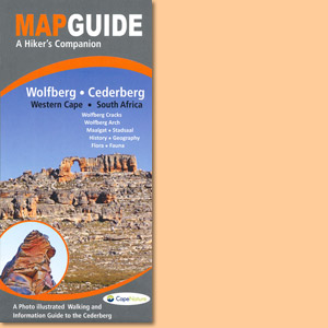 Map Guide to Wolfberg-Cederberg, Western Cape of South Africa