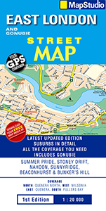 East London & Gonubie Street Map (MapStudio)