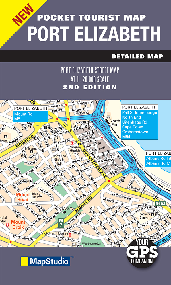 Port Elizabeth Pocket Map (MapStudio)
