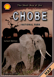 The Shell Tourist Map of Chobe National Park