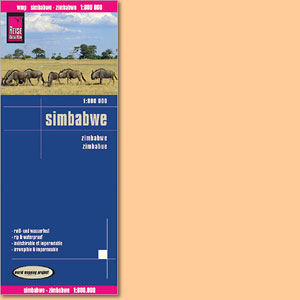 Simbabwe Karte 1:800.000 (Reise Know-How)