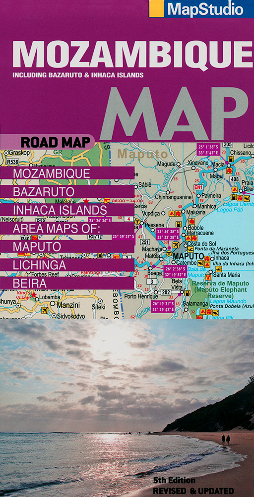 Mozambique Road Map (MapStudio)