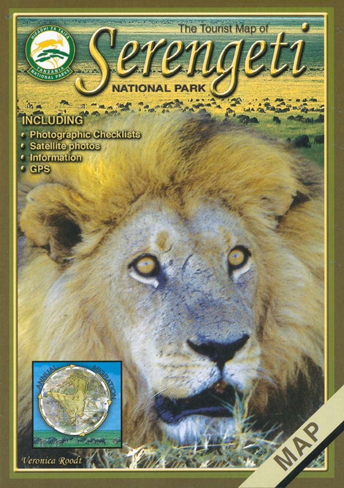 Tourist Map of the Serengeti National Park