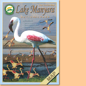 Tourist Map of Lake Manyara National Park