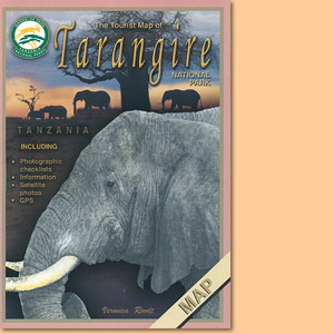 Tourist Map of Tarangire National Park