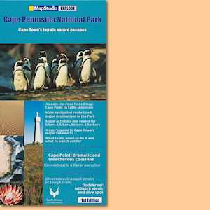 Cape Peninsula National Park Explore Map