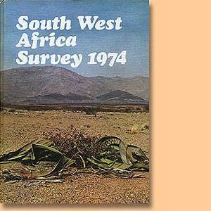 South West Africa Survey 1974
