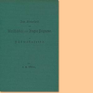 Das Hinterland von Walfischbai und Angra Pequena. Eine Übersicht der Kulturarbeit deutscher Missionare in Südwestafrika. Nachdruck