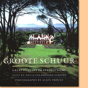 Groote Schuur. Great Granary to Statley Home