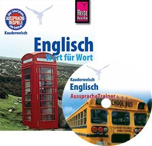 Englisch Wort für Wort. Buch und Audio-CD. Englisch Kauderwelschband und Englisch AuspracheTrainer von Reise Know-How