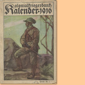 Kolonialkriegerdank-Kalender 1916