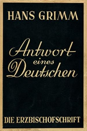 Die Erzbischofsschrift. Antwort eines Deutschen