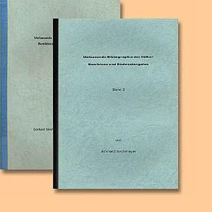 Umfassende Bibliographie der Völker Namibiens und Südwestangolas, Band 1 und 2
