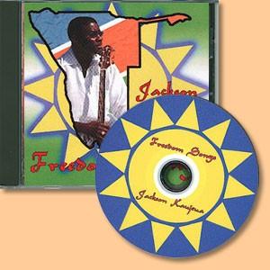 Freedom songs (CD) Jackson Kaujeua