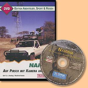 Namibia. Auf Pirsch mit Kamera und Büchse in Namibia. DVD