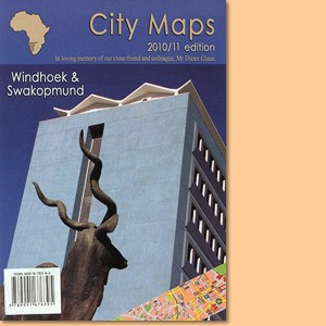 City Map Windhoek - City Map Swakopmund - City Map Walvis Bay
