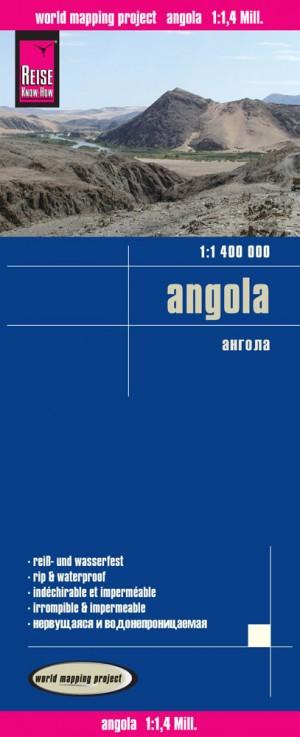 Angola-Karte (Reise Know-How) Angola Map