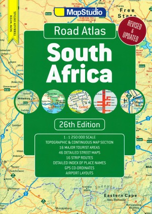 South Africa Road Atlas (MapStudio)