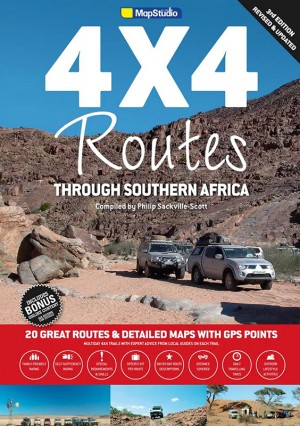 4x4 Routes through Southern Africa (Mapstudio)