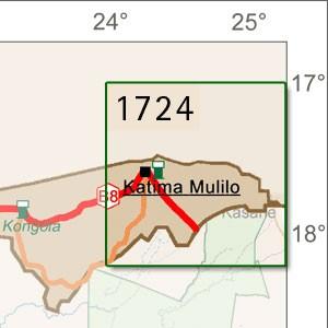 Katima Mulilo [1:250.000]