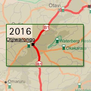 Otjiwarongo [1:250.000]