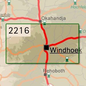 Windhoek [1:250.000]