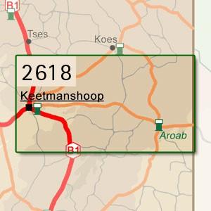 Keetmannshoop [1:250.000]