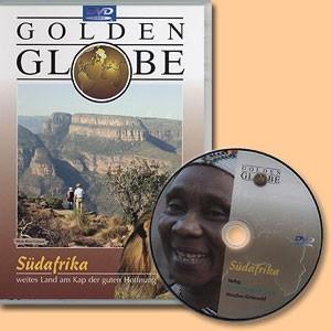 Südafrika. Weites Land am Kap der guten Hoffnung. Film DVD. Golden Globe