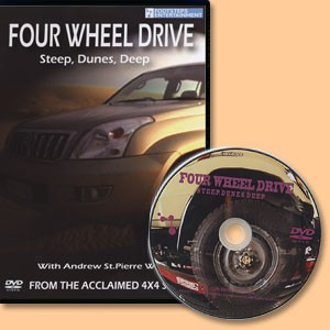 Four Wheel Drive. Steep, Dunes, Deep. Film DVD