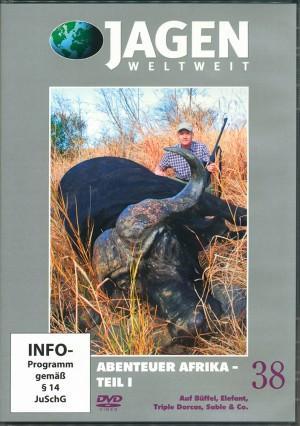 Abenteuer Afrika, Teil 1: Auf Büffel, Elefant, Triple Dorcas, Sable & Co. (Jagen Weltweit, DVD Nr. 38)