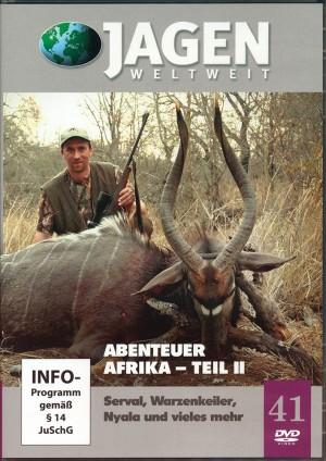 Abenteuer Afrika, Teil 2: Serval, Warzenkeiler, Nyala (Jagen Weltweit, DVD Nr. 41)