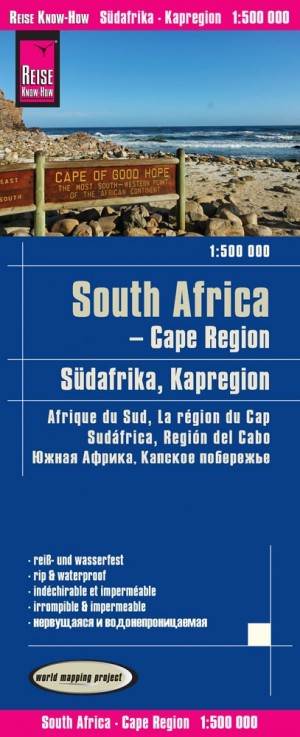 Südafrika Kapregion-Landkarte (Reise Know-How)