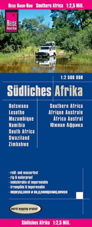 Südliches Afrika Karte 1:2.500.000. Reise Know-How