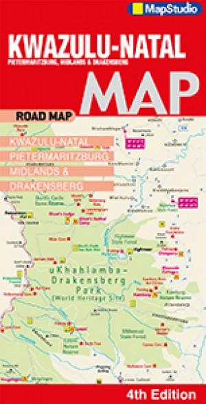 KwaZulu-Natal Road Map (MapStudio)