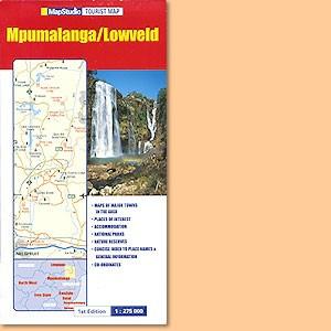Mpumalanga/ Lowveld Tourist Map (MapStudio)