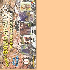Bavianskloof Mega-Reserve Map/ Karte (Slingsby's)