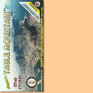 Table Mountain Map/ Karte 1:20.000 (Slingsby's)