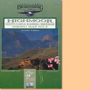 Drakensberg Hiking Map/ Wanderkarte No 4 - Giant's Castle, Kamberg, Mkhomazi 1:50.000