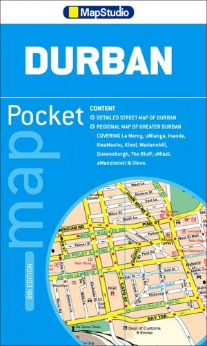 Durban Pocket Map (MapStudio)